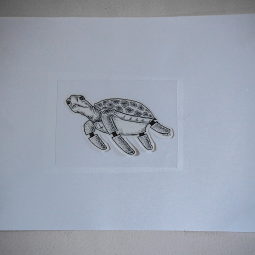 Graphic art Turtle