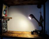 Industriální lampička IDEA